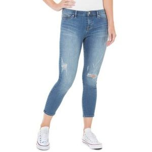 NWT Dittos - Taylor Mid Rise Crop Jeans